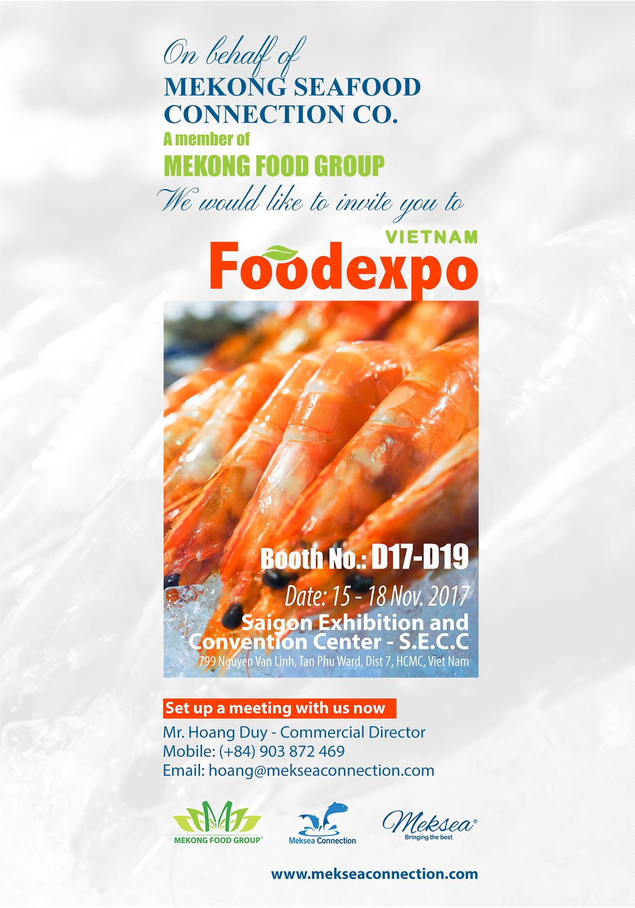 Invitation letter for food exhibition image collections invitation letter vietnam foodexpo 2017 1g by meksea team stopboris image collections stopboris Gallery