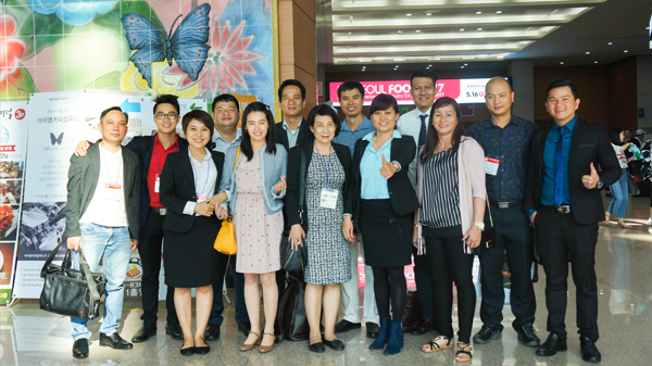 Mekong Food Group attends Seoul Food & Hotel 2017 for the first time